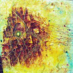Medůza -obrazová abstrakce