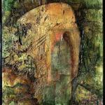 Milovník, abstraktní obraz figury milovníka