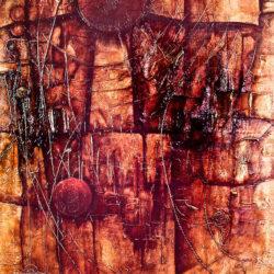 Abstraktní obraz Pokání