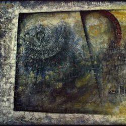 Abstraktní obraz Renesanční průchody