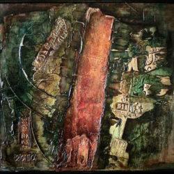 Abstraktní obraz renesančních prvků