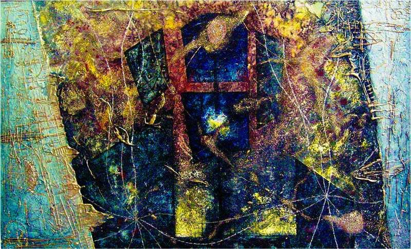 Obrazová abstrakce Skrz-světlo
