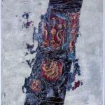Abstraktní obraz Nebeské brány