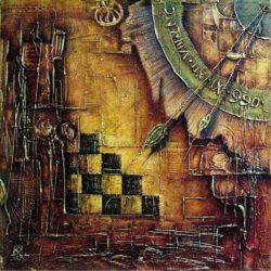 Obraz šachové abstrakce