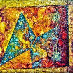 Abstrakce průhledů vesmírem