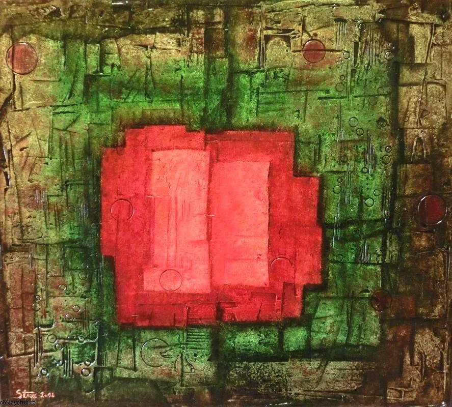 Obraz Rectangle 90x80 cm