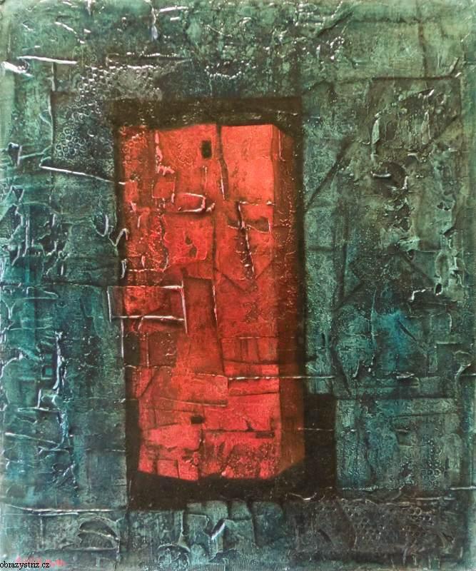 Obraz Red Parcel 80x96 cm