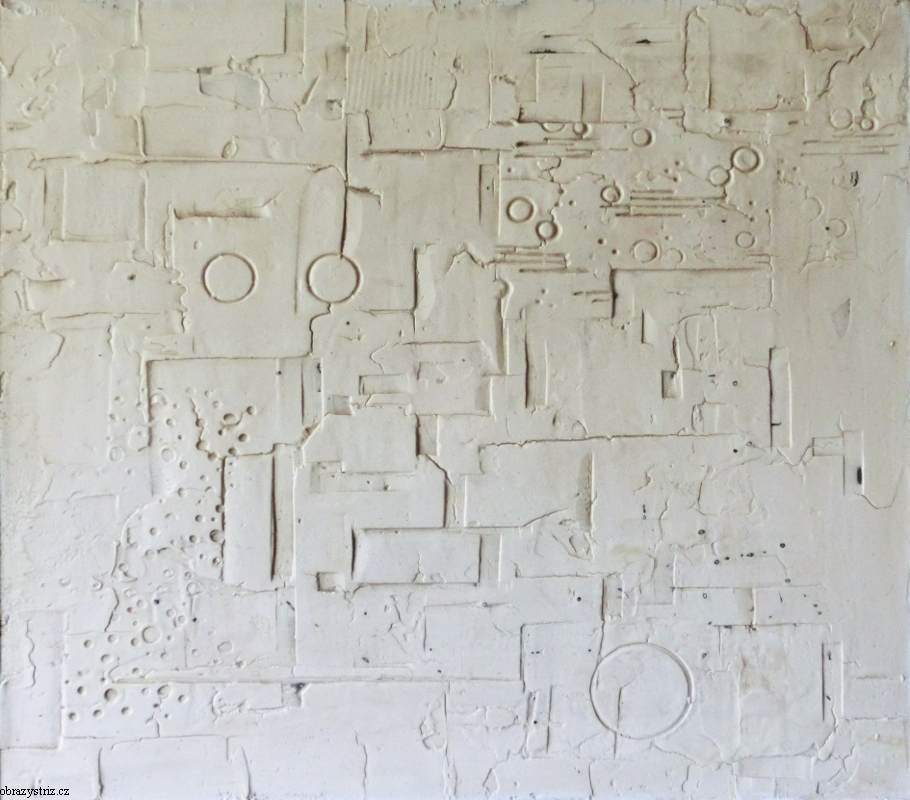 Obraz Whiter 62x70 cm