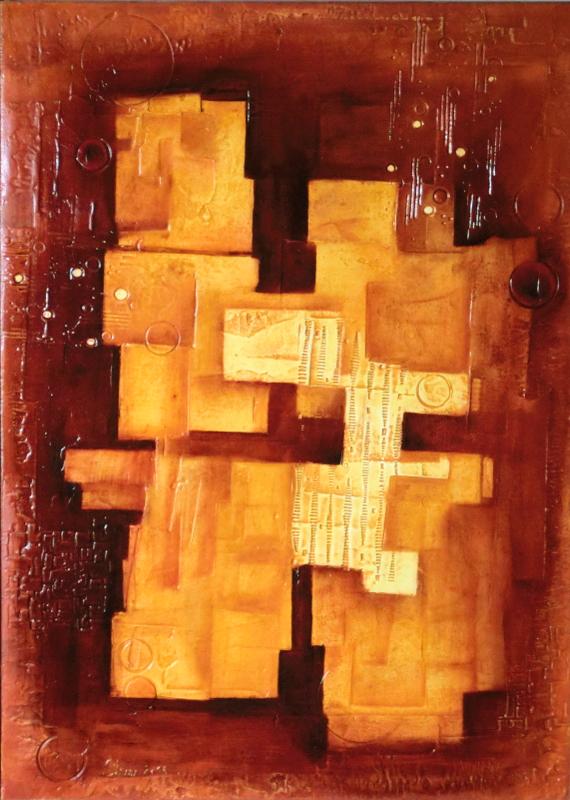 abstraktní obraz H