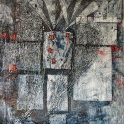 abstraktní obraz anděl