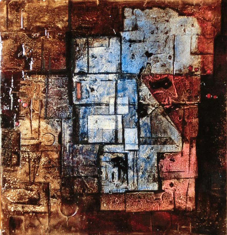 abstraktní obraz  exant