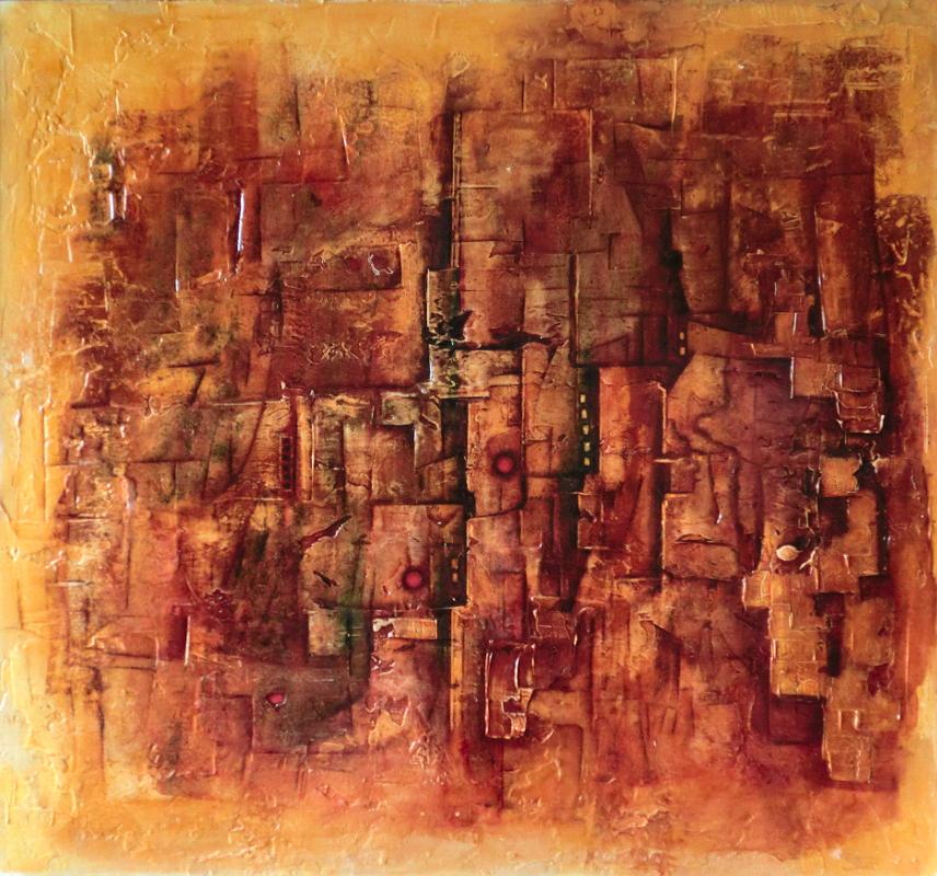 abstraktní obraz sandoval2