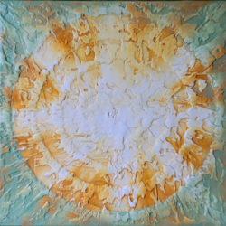abstraktní obraz svitani